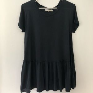 Urban Outfitters | Peplum Tshirt S